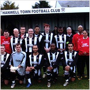 Chris Boothe and Hanwell Town Football club