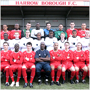 David Howell and Harrow Borough Football Club